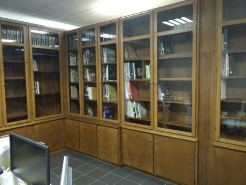 La bibliothèque de la Fédération Patrimoine Minier basée à l'Aventure des Mines, 5 rue Kroeber Imlin, 68160 Ste-Marie-aux-Mines